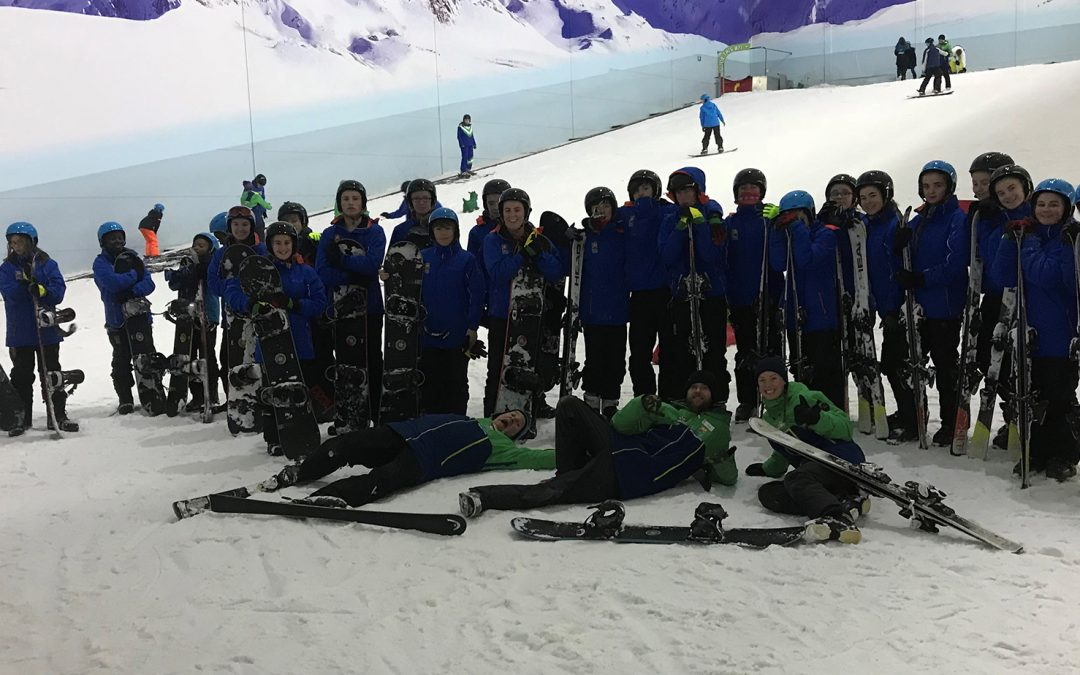 First Snow-Camp helps young people reach new heights