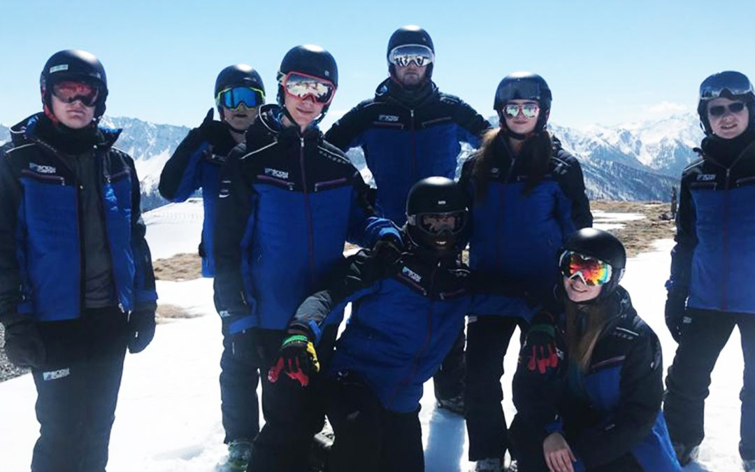 Snowcamp provides Positive Futures young people with once in a lifetime opportunity