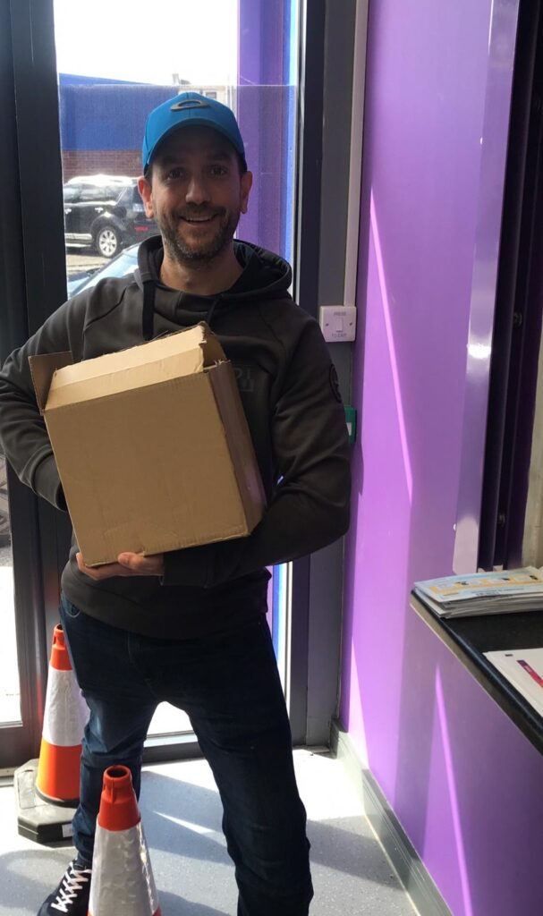 Positive Futures Liverpool donates technology during national lockdown