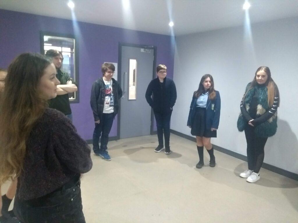 Dance workshop Liverpool Positive Futures
